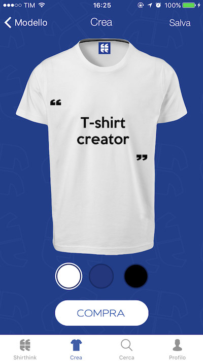 T shirt creator software product app design wiplab for T shirt design maker app